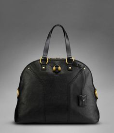 Oversized YSL Muse in Black Classic Leather.. i want! http://www.ysl.com/en_US/product/801959613