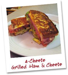 The #HamSandwich is one of America's favorites and we've taken it up a notch with the 4-Cheese Grilled Ham & #Cheese #Sandwich on Klosterman #WhiteBread! #GrilledCheese