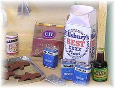 DYI DOLLHOUSE MINIATURES: Sugar n' Spice PART 2