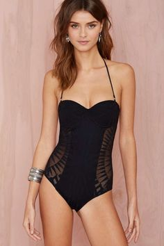 Mara Hoffman Supernova Jacquard Swimsuit - Black - One Pieces Summer Outfits, Casual Outfits, Fashion Outfits, Womens Fashion, Herve Leger Dress, Swimsuit Cover Ups, Bathing Beauties, Black Swimsuit, Swimwear Fashion