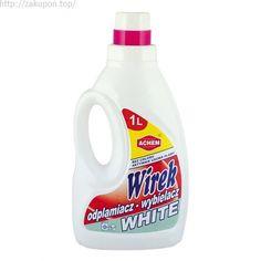 Пятновыводитель отбеливатель Wirek white 1L