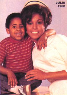 "Diahann Carroll was the first African-American woman to star in her own show in a non-stereotypical role with NBC's ""Julia."" Carroll played a widowed mother working as a nurse. #workingmoms Happy #blackhistorymonth!"