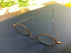 Fun Old Brass Spectacles Circa 1880's   $15