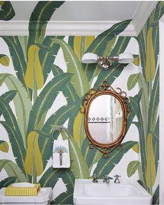 wonderful jungle bath by Celerie Kemble
