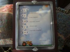 Made Just For You Scrapbooks: Scrapbooking/Framed Names