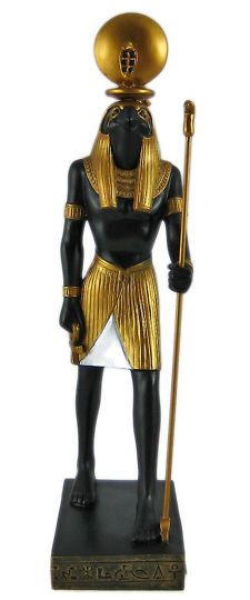 ancient Egyptian pharaohs or goddesses | Egyptian God Horus Statue Figure Ancient Egypt Sun Home Decor Classic ...