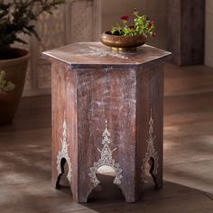 Jodhpur Side Table ~ Hand Crafted By Artisans In India Via Www.worldmarket.