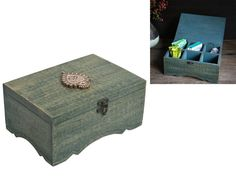 Christmas Gift Exclusive Wooden Keepsake Storage Boxes Accessories Collectible Craft Supplies Tools Teabags Holder Box Organizer -- Review more details here : Coffee Tea Espresso