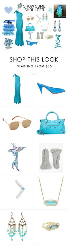 """The princess..,"" by jamuna-kaalla ❤ liked on Polyvore featuring ZAC Zac Posen, Mansur Gavriel, Elizabeth and James, MARBELLA, Brooks Brothers, Fayt Jewelry, Kendra Scott, Emily & Ashley, Suarez and vintage"