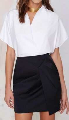 Pencil skirt:
