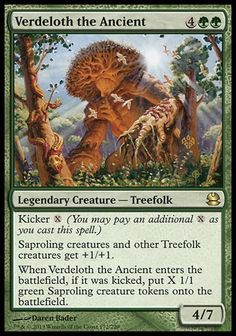 Verdeloth the Ancient (Modern Masters) - Gatherer - Magic: The Gathering Mma, Barbarian King, Mtg Altered Art, Legendary Creature, Magic The Gathering Cards, Magic Cards, Modern Masters, Flesh And Blood, Cyberpunk 2077