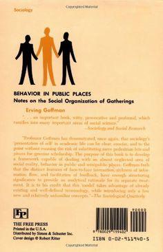 behavior in public places erving goffman pdf