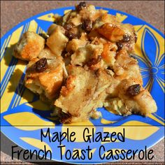 Maple Glazed French Toast Casserole #AllstarsLactaid #dontgetmessedwith #ad  #MyAllrecipes #AllrecipesAllstars