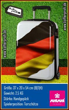 Unser Flankengott, der suitsuit Trolley in der limitierten Deutschland-Edition