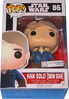 Funko Loot Crate Exclusive Funko Pop #86 Star Wars Han Solo in Snow Gear The Force Awakens FunKo http://www.amazon.com/dp/B019KUI8YA/ref=cm_sw_r_pi_dp_wnhEwb1AWX2XG