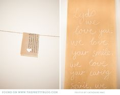 Letter to the bride-to-be