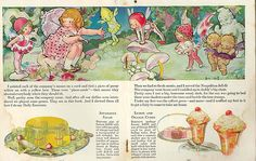 """Rose O'Neill, The Jell-O Girl Entertains, 1920s 