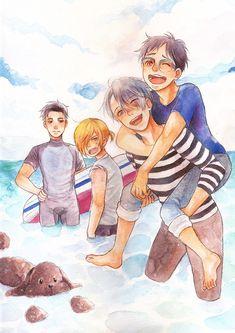 Yuri on Ice family vacation!!~~