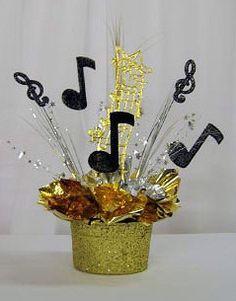 music centerpieces | Music centerpiece