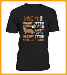 Soft Otter Warm Otter Happy Otter - Otter shirts (*Partner-Link)