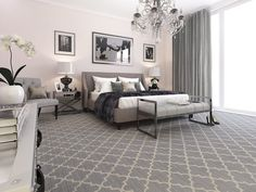 Good No Cost Carpet Bedroom hotel Thoughts Your bedroom flooring is important. It is the last thing your feet will touch when you slip from you Hotel Carpet, Shaw Carpet, Diy Carpet, Carpet Tiles, Modern Carpet, Rugs On Carpet, Wall Carpet, Grey Carpet Bedroom, Affordable Carpet