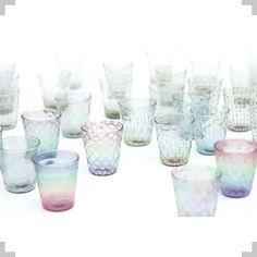 Fujiko Enami : 潮工房glass works Japan Crafts, Glass Design, Earthenware, Home Deco, Glass Art, It Works, Candle Holders, Plates, Ceramics