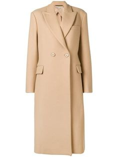 Shop online brown Stella McCartney double breasted wool coat as well as new season, new arrivals daily. Stella Mccartney Coat, Coats For Women, Clothes For Women, Beige Coat, Double Breasted Coat, Coat Dress, Wool Coat, Duster Coat, Winter Fashion