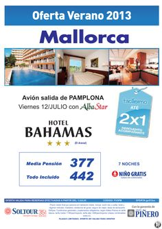 2x1 +90% Hotel Bahamas salidas desde Pamplona - http://zocotours.com/2x1-90-hotel-bahamas-salidas-desde-pamplona/