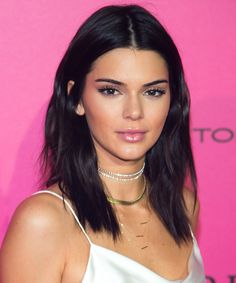 The Hottest Celebrity Brunette Hair Colors to Try Now - Kendall Jenner from InStyle.com