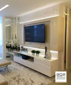 My Living Room Designs Living Room Interior, Home Interior Design, Living Room Decor, Modern Tv Wall Units, Sala Grande, Living Room Tv Unit Designs, Tv Wall Decor, Design Case, Home And Living