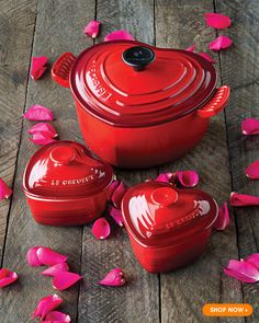 Le Creuset   Gifts with Heart