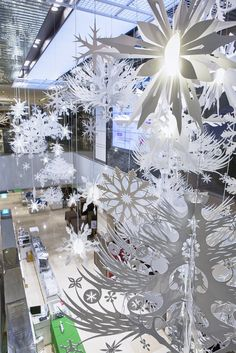 Hyundai Christmas, Installations, Studio Tord Boontje