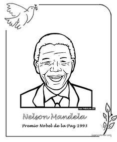 Menta Más Chocolate - RECURSOS PARA EDUCACIÓN INFANTIL: Premios NOBEL de la PAZ Nelson Mandela, Peace Crafts, Nobel Peace Prize, School Hacks, Science And Nature, Gandhi, Geography, Education, History