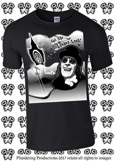Men's Get The London Look T-shirt in Black Size Small - 3XLarge by Plundering Productions #Etsy #Goth #Gothic #Rockabilly #Punk #HeavyMetal #Horror #Vampire