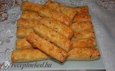 Sajtos rúd recept fotóval Rum, Carrots, Dairy, Cheese, Vegetables, Food, Veggies, Essen, Vegetable Recipes
