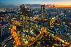 .:Tokyo Metropolis:. by RHCheng.deviantart.com on @DeviantArt