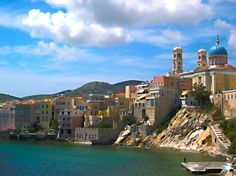 Vaporia quarter in Ermoupolis, the capital of Syros Syros Greece, Holiday Planner, Top Hotels, Greek Islands, Beach Fun, More Photos, Travel Guide, Cities, Coast