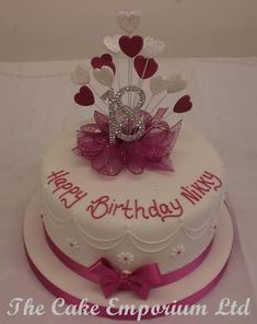 Image result for 18th birthday cake for girl