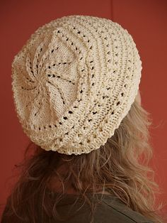 Great lace hat. Free pattern.