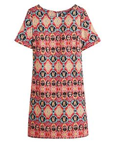 At Simply Be, you'll find the latest plus size fashion clothing available in sizes From plus size jeans and dresses to trendy tops, Simply Be's women's clothing features fashionable outfits for every occasion. Traditional Fabric, Ikat Print, Ikat Fabric, Plus Size Jeans, Trendy Tops, Printed Shorts, Plus Size Dresses, Plus Size Fashion, Short Sleeve Dresses