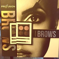 Brows proFusion kit. Brand new Brows proFusion kit. 5 Eyebrow stencils, brow brush, pallet, and pencil. ProFusion  Makeup Eyebrow Filler