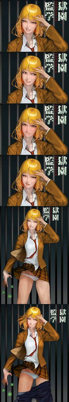 Your favorite Korean expression emperor illustrator 수 민성. 你们喜欢的韩国表情帝插画师수민 성.