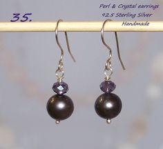 Genuine Freshwater Pearls 925 Sterling Silver  earrings.   http://stores.ebay.ie/SilverTrend4U?_rdc=1