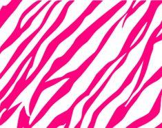 Pink And White Zebra Print Background Hi clip art