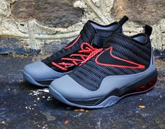 Nike Air Max Shake Evolve - Black - Dark Grey - Varsity Red - Dennis Rodman