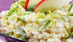 Vajcový šalát so zelerom | DobreJedlo.sk Potato Salad, Cabbage, Food And Drink, Potatoes, Vegetables, Ethnic Recipes, Pickles, Salads, Vegetable Recipes