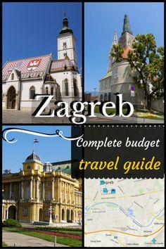 Zagreb, Croatia - Complete budget travel guide