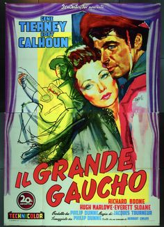 "via #IVPDA member Movie Art ""Now offering The Way of the Gaucho (1952) Italian 39x55.  https://www.movieart.com/way-of-the-gaucho-1952-24879/  Beautiful!  @movieartaustin has movie posters!"""