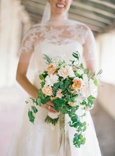 Wedding Bouquet by FlowerWild. See more on SMP: http://www.StyleMePretty.com/2014/02/06/elegant-carmel-wedding-with-photography-by-jose-villa/ Photography: Jose Villa