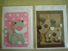 Cat/Dog greeting cards by Diana Gaisser